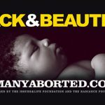 """Black & Beautiful"" prolife billboard by The Radiance Foundation"