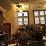 Ryan Bomberger keynotes at Harvard Law School.