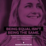 """BEING EQUAL"" by The Radiance Foundation"