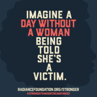 Day Without A Woman Being Told She's A Victim