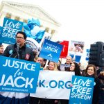 SCOTUS rally held by The Radiance Foundation for CO cake artist Jack Phillips