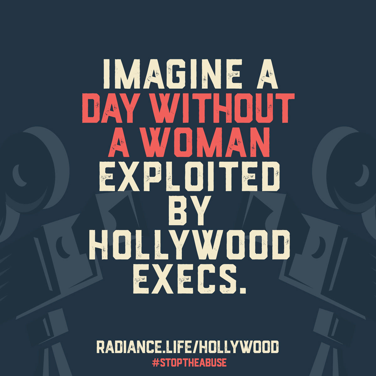 """DAY WITHOUT A WOMAN - HOLLYWOOD"""