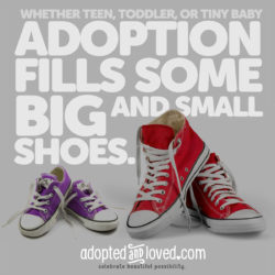 """""""Big and Small Shoes"""" by The Radiance Foundation"""