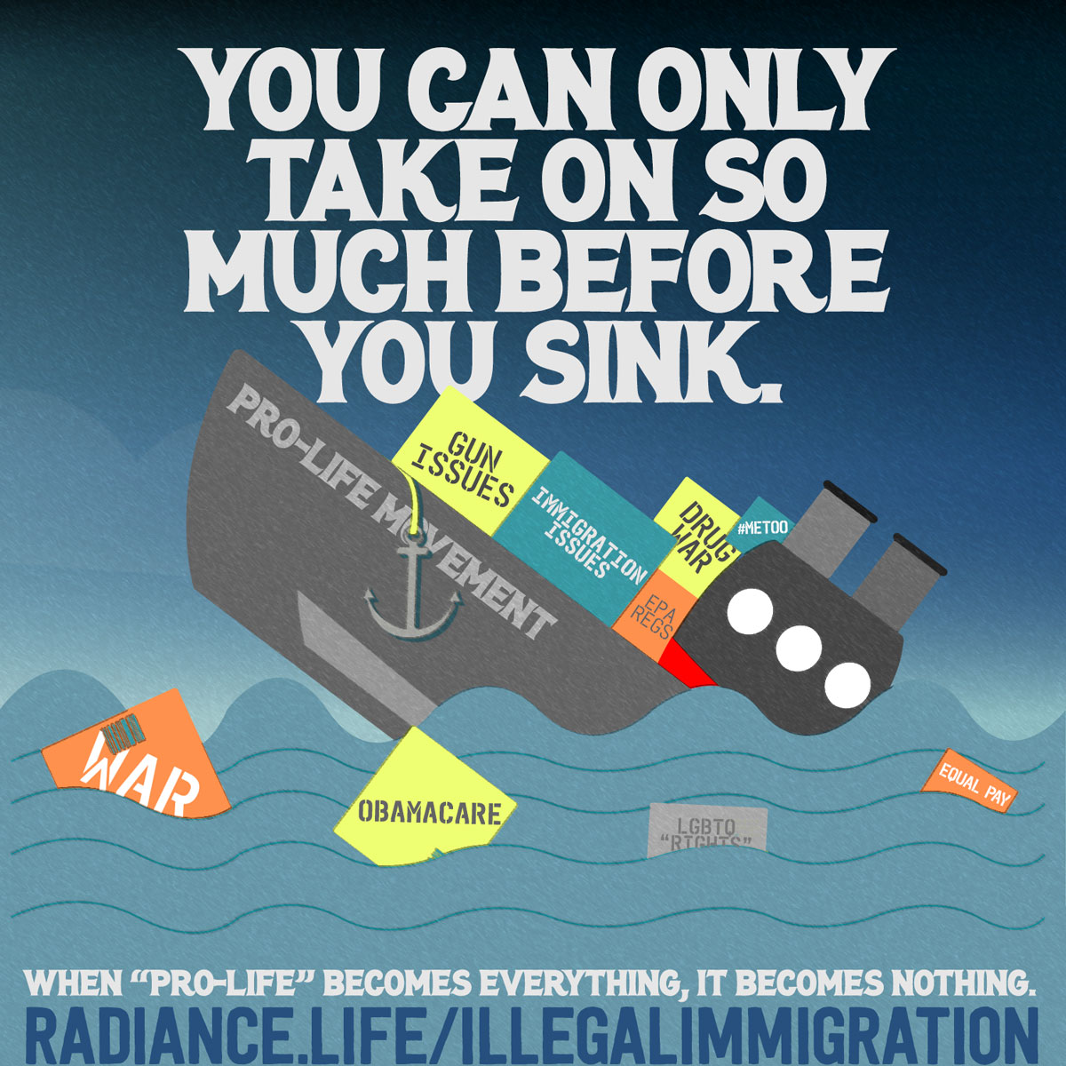 """SINKING SHIP"" by The Radiance Foundation"