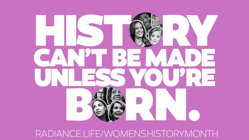 #WomensHistoryMonth by The Radiance Foundation